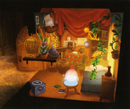 Ventus's Room Layout