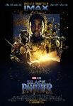Black Panther IMAX Poster