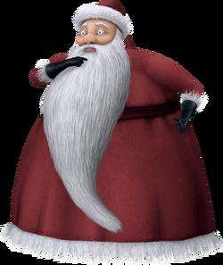 Santa Claus as he appears in Kingdom Hearts II
