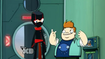 Space Cow-Bros - Ninja and Howard