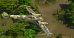 The Sims 4 SW Journey to Batuu - T70 X-wing