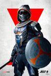 Black Widow Poster - Taskmaster