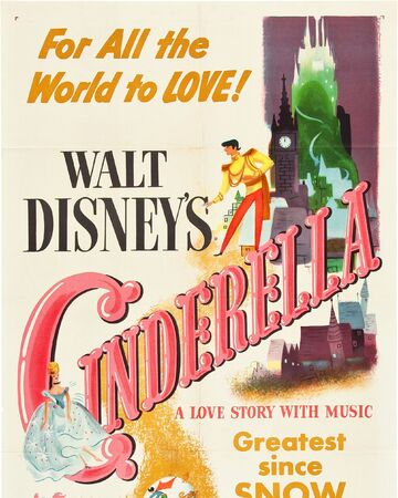 DISNEY PRINCESSES CASTLE PRINCESS NEW POSTER Cinderella