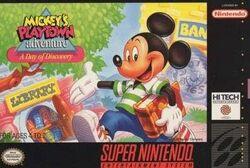 Mickey's Playtown Adventure SNES Cover.jpg