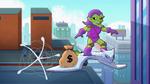 Green Goblin in Marvel Super Hero Adventures