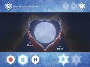 Image the moon turns, like, a heart!