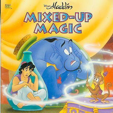 Disney's Aladdin: Mixed-Up Magic (Golden Look-Look Book)