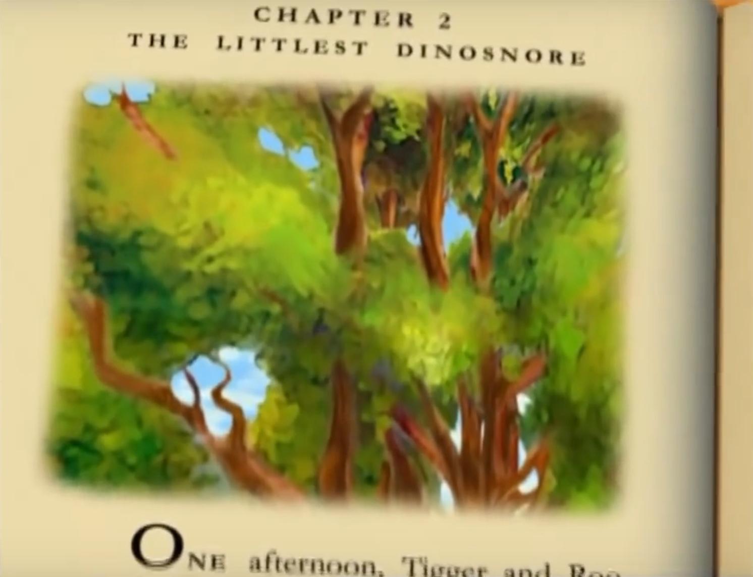 The Littlest Dinosnore