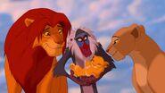 Disney's The Lion King - Simba with Rafiki and Nala