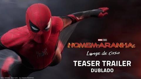 Homem-Aranha Longe de Casa Teaser Trailer Internacional DUB 04 de julho nos cinemas