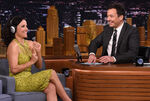 Julia Louis-Dreyfus vists Jimmy Fallon