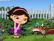 June meets Little Dragon Kite