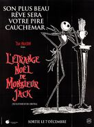 The Nightmare Before Christmas French Poster 01