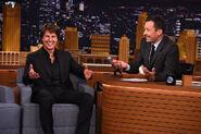 Tom Cruise visits Jimmy Fallon