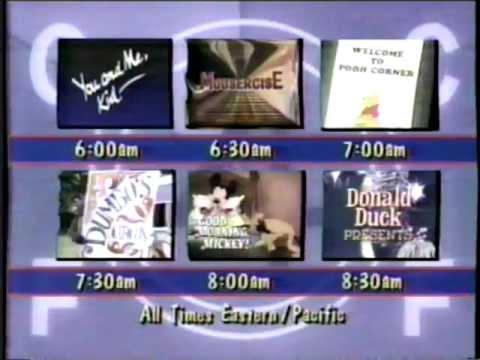 Disney Channel Saturday Mornings