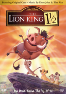LionKing1andAHalf 2004 DVD