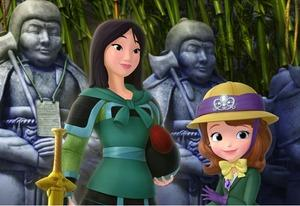 Alex2424121/Which Disney Princesses Will Soon Be Showing Up on Sofia the First? Rapunzel and Tiana But Not Anna and Elsa