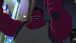 Red Hulk Double Guns AUR