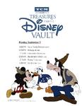 Treasures from The Disney Vault September 2017 Schedule