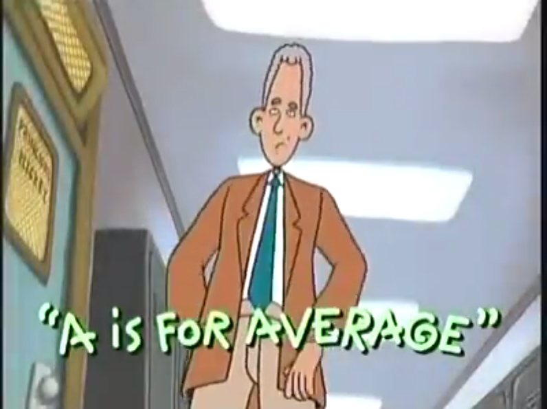A is for Average