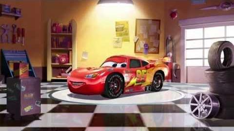 Cars Fast as Lightning - Lightning McQueen Spotlight (Ka-chow!)