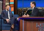 Joel McHale visits Stephen Colbert
