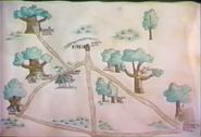 Map of Pooh Corner
