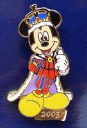 Mickey - Cinderellabration - Pin