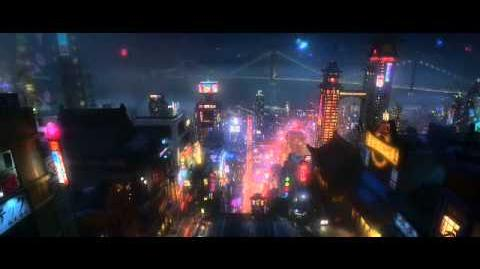 Nova animação Disney Big Hero 6
