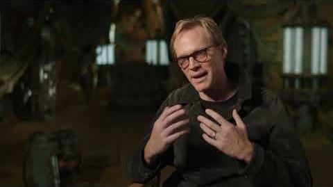 """SOLO Behind The Scenes """"Dryden Vos"""" Paul Bettany Interview - A Star Wars Story"""