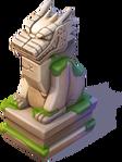 D-stone dragon statue