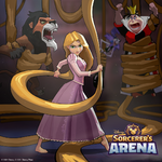 DSA Rapunzel vs Villains