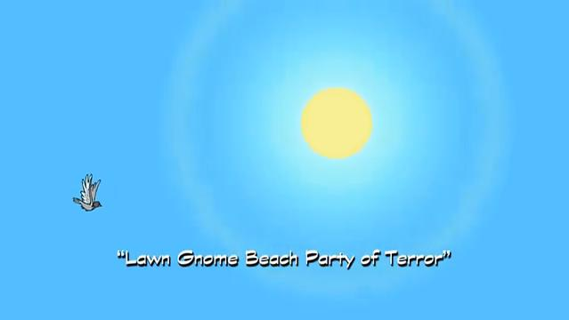 Lawn Gnome Beach Party of Terror