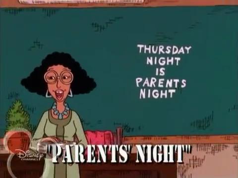 Parents' Night (Recess)