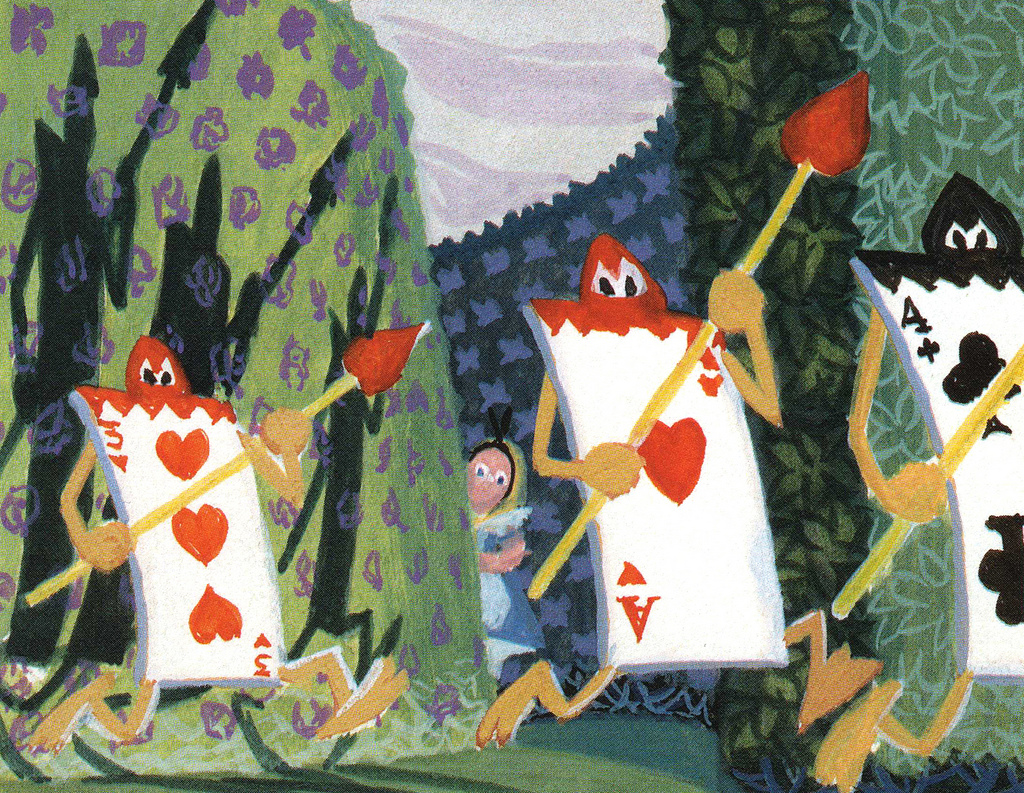 Gavotte of the Cards