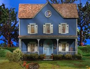 The Big Blue House