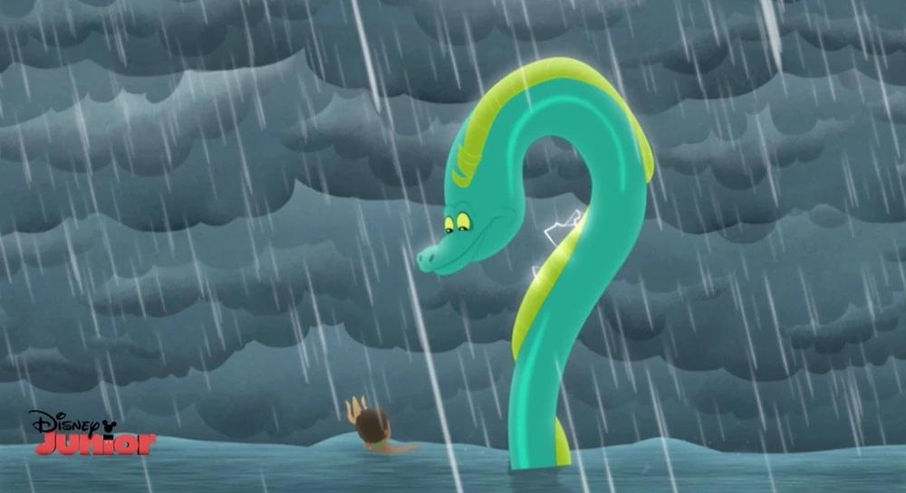 Electric Storm Eel