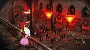 Haloween party in Drusselsteinian castle