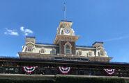 Main Street, U.S.A. station Magic Kingdom