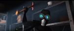 Screenslaver with an axe