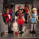 CJ Freddie and Ally dolls