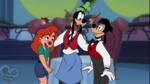 Max Goofy and Roxanne