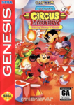 The Great Circus Mystery Starring Mickey & Minnie (Genesis Cover Art)