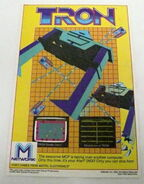 Tron video game ad