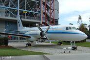 Walt Disney's plane at SBT