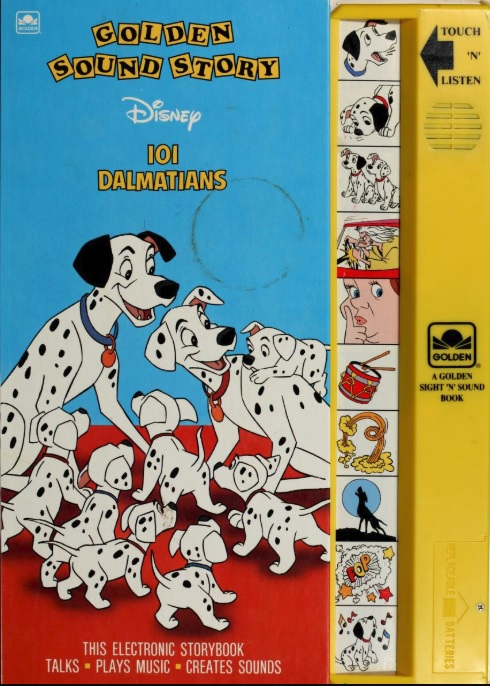 101 Dalmatians (Golden Sound Story)