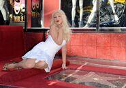 Christina Aguilera Hollywood Walk of Fame