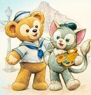 Duffy and Gelatoni portrait