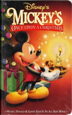 Mickey's Once Upon a Christmas (video)