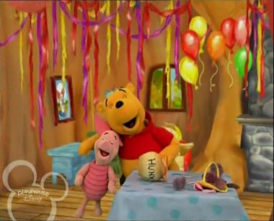 Piglet's Perfect Party